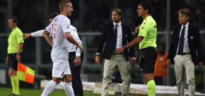 """Inter, Vidic: """"Rigore ed espulsione alla mia prima partita, un bel benvenuto"""""""