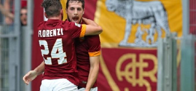 Roma, tutto facile con il Cagliari: 2-0