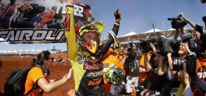 Motocross, Cairoli non si ferma più: è 8 volte campione mondiale
