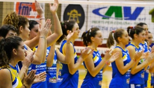 Volley: È una Cav Libera Virtus sull'altalena, non basta per battere Salerno