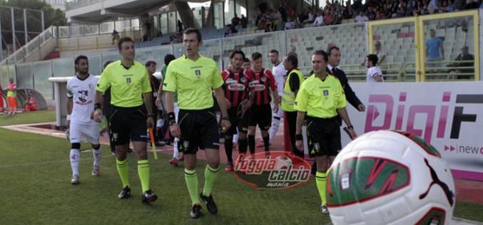 Foggia-Catanzaro dirige Andrea Tardino di Milano