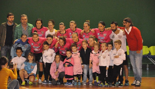 Goleada per la Salinis femminile: 9-1 al Real Stigliano!