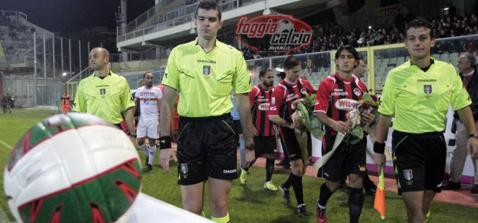 Foggia-Matera dirige Giuseppe Cifelli di Campobasso