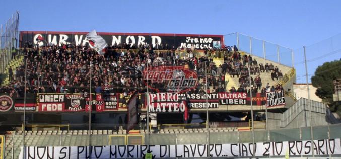 Foggia-Lecce febbre da derby, biglietti esauriti