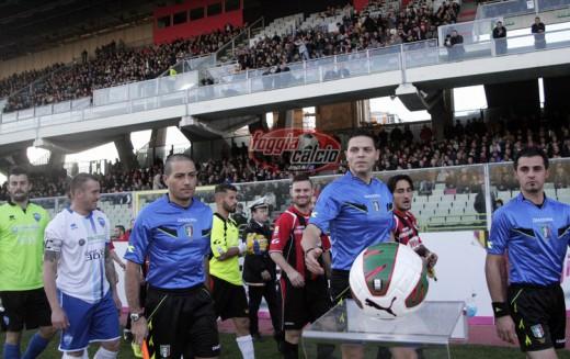 Casertana-Foggia dirige Francesco Guccini di Albano Laziale
