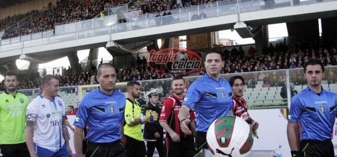 Foggia-Lecce dirige Carmine Di Ruberto di Nocera Inferiore