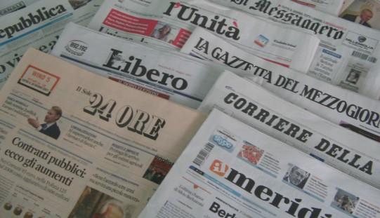 Rassegna Stampa del 04.05.2016: La prima pagina dei quotidiani sportivi