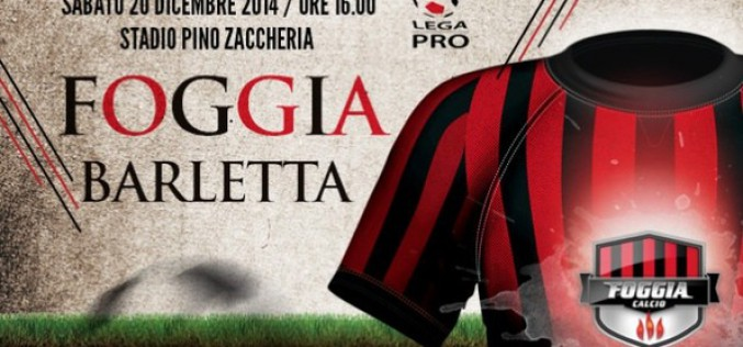 Oggi, ore 16.00, stadio Zaccheria, Foggia-Barletta