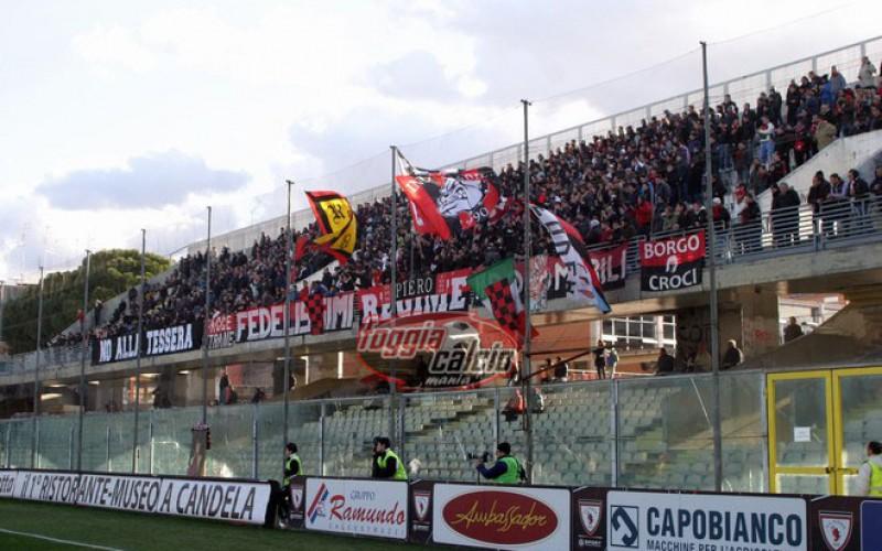 GdS – Foggia, polverizzati i 2200 biglietti per la trasferta di Ascoli