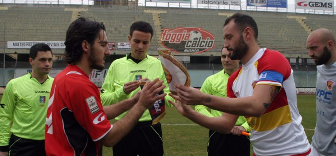 Foggia- Vigor Lamezia dirige Valerio Colarossi di Roma2