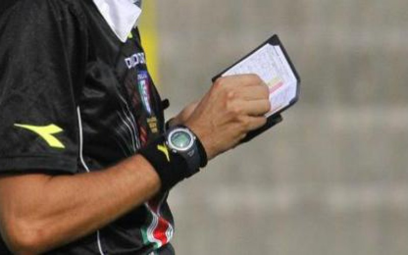 Giudice sportivo: ammenda di 500 euro alla società