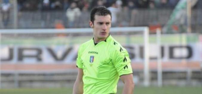 Foggia-Juve Stabia dirige  Carlo Amoroso di Paola