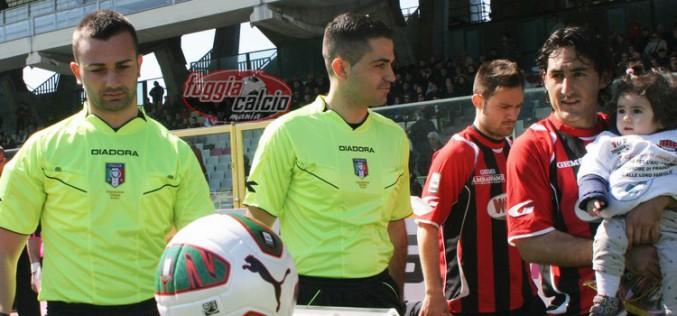 Foggia-Casertana dirige Giuseppe Cifelli di Campobasso