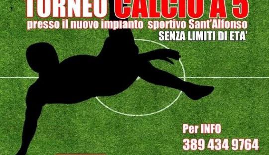Torneo Calcio a 5: aperte le iscrizioni
