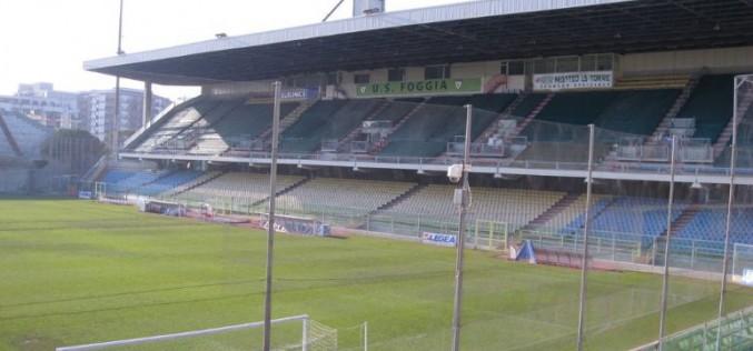 Foggia, capienza stadio verso i 15mila spettatori