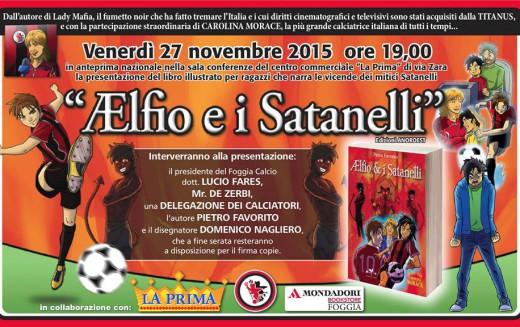 """""""Ælfio e i Satanelli"""", venerdì presentazione del libro illustrato dedicato ai rossoneri"""