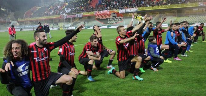Foggia, la quarta miglior difesa d'Italia