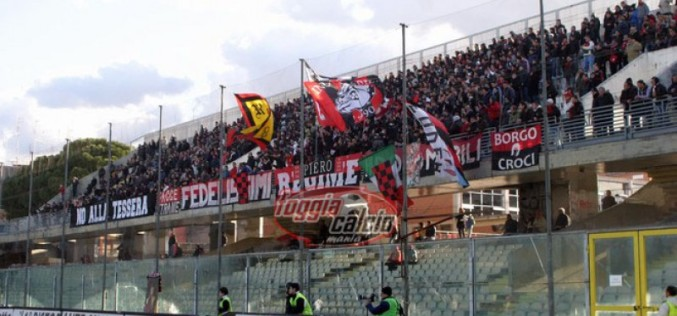 Gravina-Foggia: trasferta libera per i tifosi rossoneri
