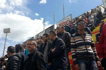 Foggia – Alessandria, in 2mila all'allenamento. Al termine cori e salti con i tifosi