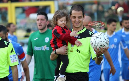 Juve Stabia-Foggia dirige Francesco Guccini di Albano Laziale