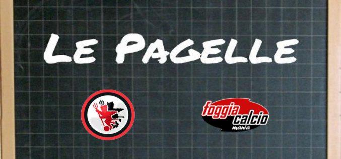 Le pagelle di Foggia – Cosenza