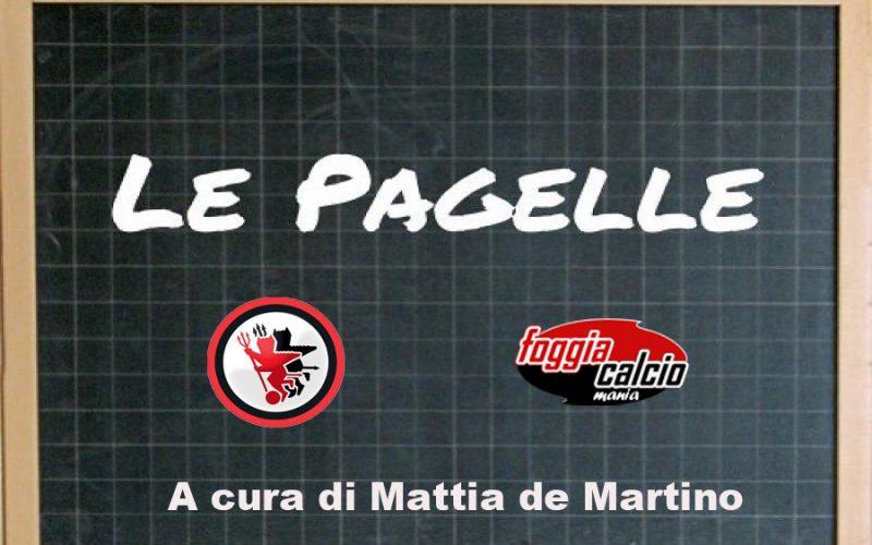 Le pagelle di Matera – Foggia