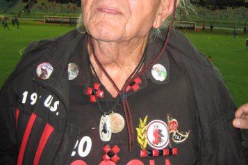 Nonno Ciccio, 91enne storico ultras del Foggia ad Agrigento per Akragas-Foggia