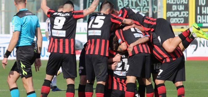 E' un Foggia inarrestabile: espugnata anche Catania. 1-0