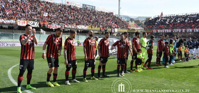 Girone C, cambia l'orario di Catanzaro-Foggia