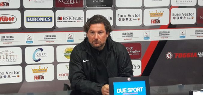 """Foggia, Stroppa: """"Il mio lavoro agevolato da De Zerbi"""""""