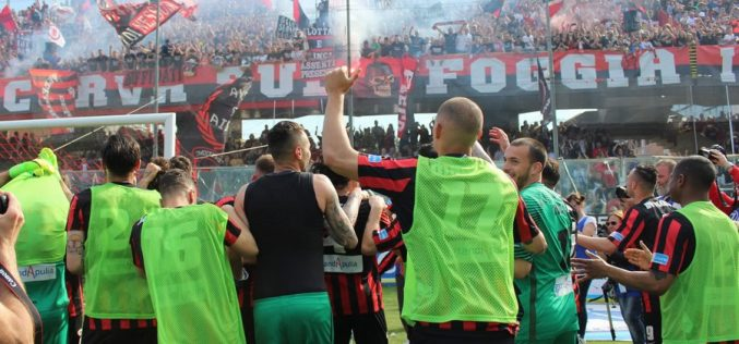 Welcome Back, Foggia! Rossoneri in Serie B, a Fondi basta il pari
