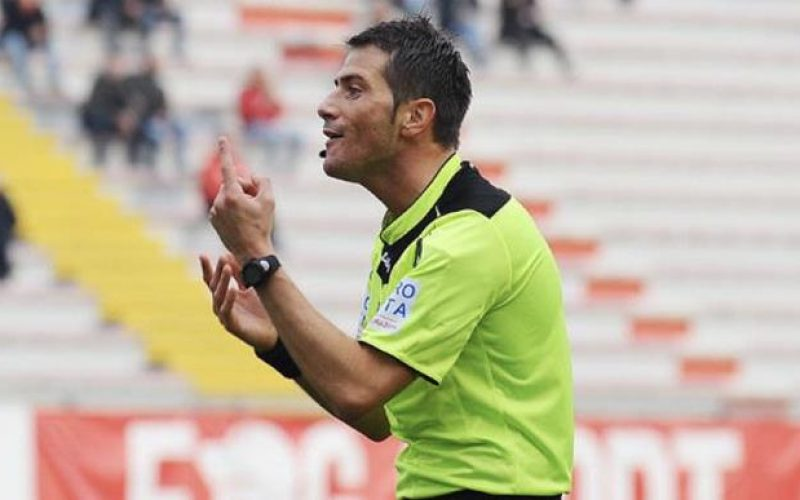 Unicusano Fondi-Foggia dirige Giacomo Camplone di Pescara