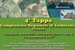 Oasi Lago Salso è tappa del campionato regionale di Endurance Puglia