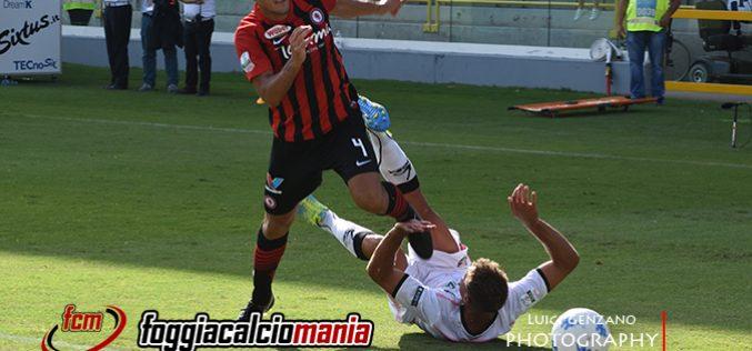 Il Foggia dura 60′, il Palermo agguanta il pari: è 1-1 allo Zaccheria