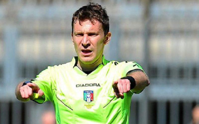 Foggia-Novara dirige il sig. Marco Serra di Torino