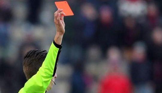 Giudice sportivo: multa per i club calabresi, 8 calciatori squalificati