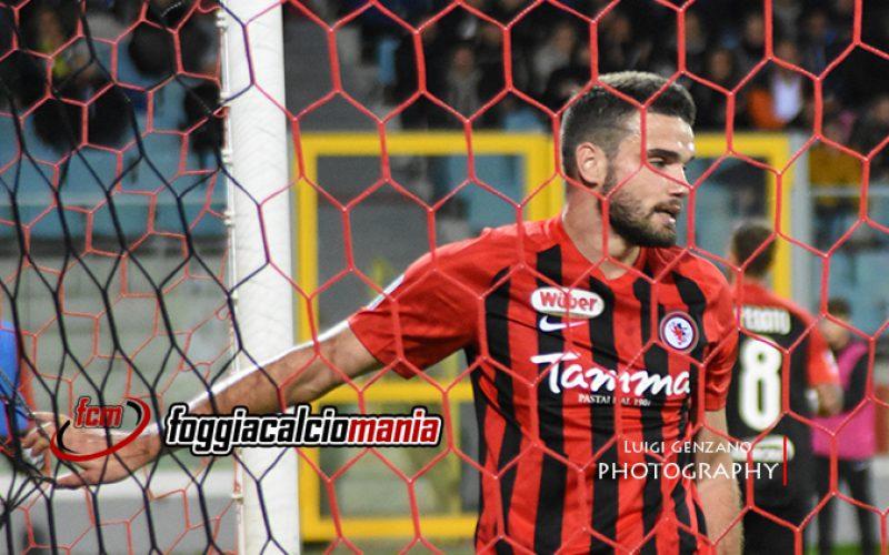 Pro Vercelli-Foggia 1-4 Calcio serie B, posticipo