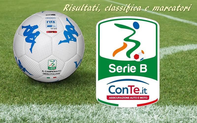 Serie B: Risultati e marcatori ventunesima giornata