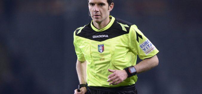 Foggia-Cremonese dirige Davide Ghersini di Genova