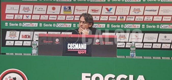 """Venezia, Inzaghi: """"Dispiace non vincere la nostro miglior gara"""""""