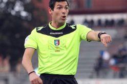 Foggia-Pescara dirige Juan Luca Sacchi di Macerata