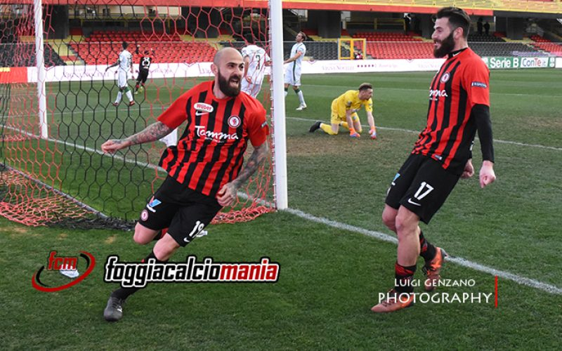 """Foggia, Nicastro: """"Sul gol avevo la palla sul destro e ho preferito darla Mazzeo"""""""
