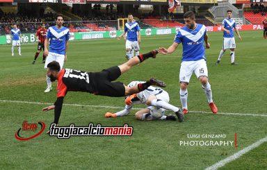 Serie B: Stagione 2017-2018 – I 5 scatti di Foggia-Brescia