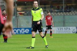 Foggia-Brescia dirige Fabio Piscopo di Imperia
