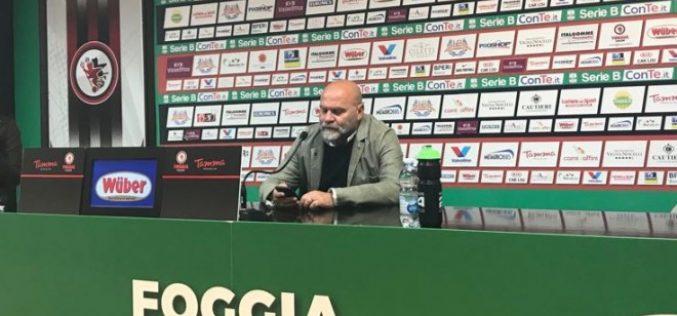 """Ascoli, Cosmi: """"Brutto primo tempo, nella ripresa ci manca un rigore"""""""