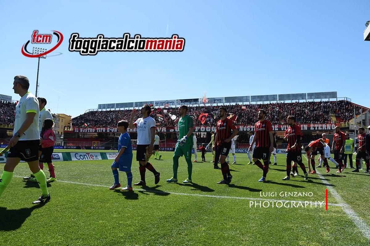 Serie B: Stagione 2017-2018 – I 5 scatti di Foggia-Empoli