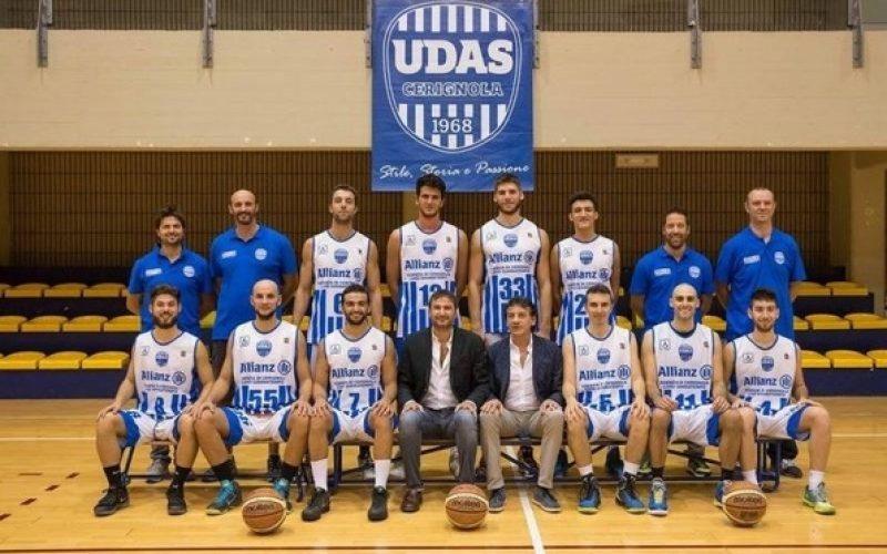 Basket, l'Udas Cerignola retrocede in Serie C