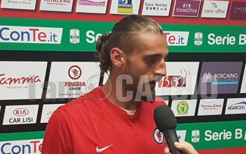 """Foggia, Tonucci: """"Fortunato sul gol ma ho avuto coraggio"""""""