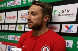 """Foggia, Floriano: """"Soddisfatto per la vittoria e per il gol"""""""
