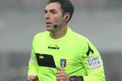 Frosinone-Foggia dirige Sacchi di Macerata